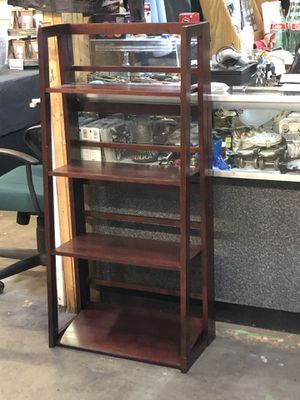 Ascending Cherry Bookcase for Sale in Winston-Salem, NC