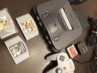 Nintendo 64 Bundle (Authentic) for Sale in Salem,  OR