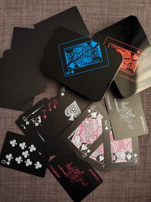 PVC Waterproof Poker Cards x 2 for Sale in Chicago, IL