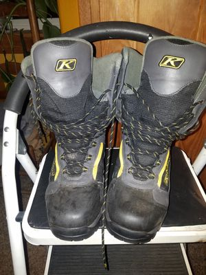 KLIM snowmobile boots for Sale in Chehalis, WA