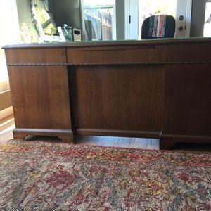 Mahogany Desk for Sale in Encinitas, CA