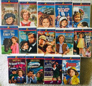 SHIRLEY TEMPLE COLLECTION VHS Lot 17 Used for Sale in Newport Beach, CA