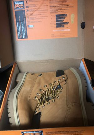 "Timberland Pro Men's work boot 7.5 / Direct attached 8"" WP soft toe insulated for Sale in Yonkers, NY"