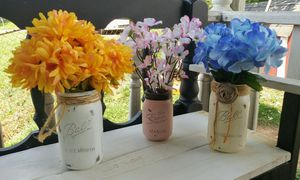 Chalk Painted Mason Jars for Sale in Knoxville, TN
