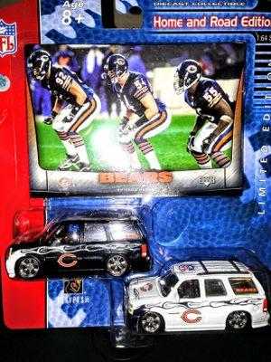 Chicago Bears: New diecast (2) Escalade cars for Sale in Mount Pleasant, WI