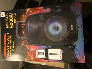 bluetooth speaker for Sale in Dallas, TX