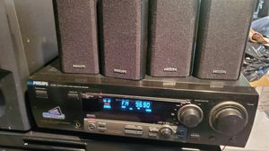Phillips Digital Surround sound with Receiver for Sale in Salem, MA