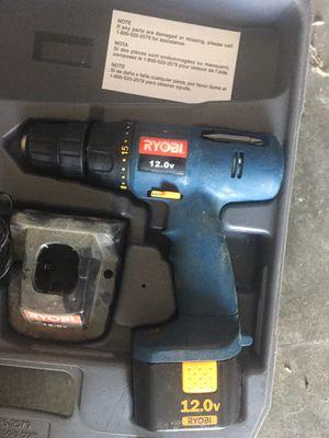 Ryobi 12v drill for Sale in Woodland, CA