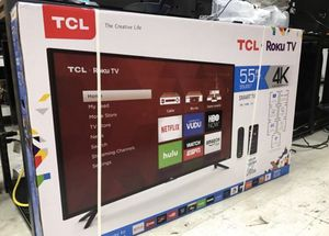55 TCL roku smart HDR LED 4k Tv for Sale in Anaheim, CA