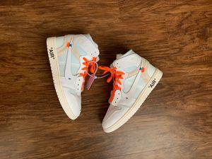 Off White Jordan 1's (SIZE 10) $650 for Sale in Houston, TX