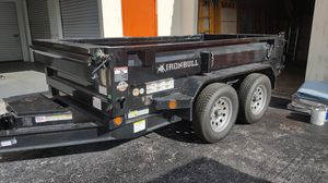 Dump trailer 6x10 or TRADE for Sale in Coral Springs, FL