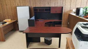U shaped office desk for Sale in Fremont, OH
