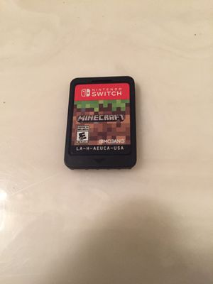 Nintendo Switch Game : Minecraft ( excellent condition. NO CASE) for Sale in San Diego, CA