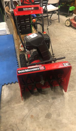 Snow thrower for Sale in Anchorage, AK