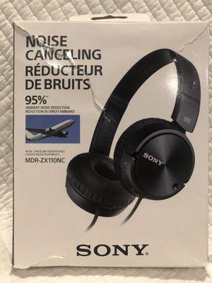 Sony MDR ZX110 NC headphones for Sale in San Bernardino, CA