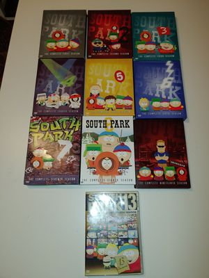Boxes only! South Park seasons . No dvds for Sale in Germantown, MD