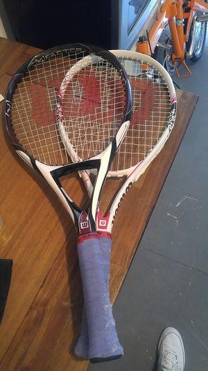 Wilson Tennis rackets for Sale in Chula Vista, CA