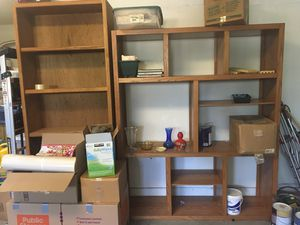 2 Bookshelves- $40 Each or Both for $70 for Sale in Tracy, CA