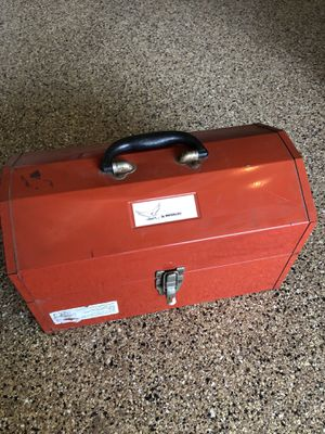 """16"""" Vintage Waterloo Tool Box for Sale in Chino Hills, CA"""