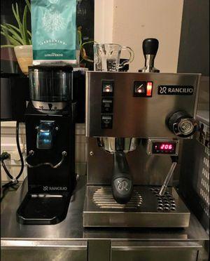 Rancilio Silvia Espresso Machine and Rocky Grinder for Sale in Seattle, WA
