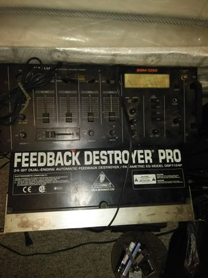 Older DJ equipment for Sale in Detroit, MI