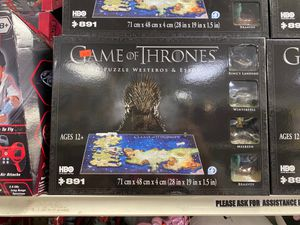 Game of Thrones 4D Puzzle Westeros and Essos for Sale in Missouri City, TX