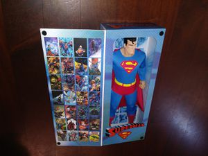 Huge clothed Superman 18 inch tall BIG-FIGS Tribute Series DC OriginalsAction Figure Toy for Sale in Santa Fe Springs, CA