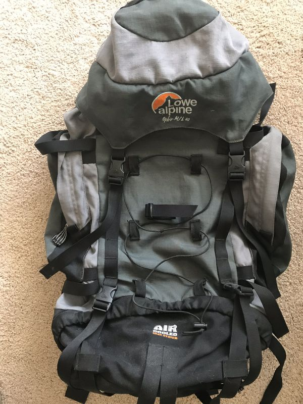 Lowe Alpine backpack - reinforced, excellent support