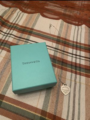 return to tiffany and co necklace for Sale in San Antonio, TX