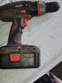 Black Max JD610424 Cordless Drill With 24 Volt Battery for Sale in Wichita,  KS