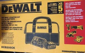 New DeWalt 20v Max XR 5Ah battery combo. for Sale in Hayward, CA