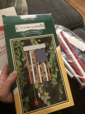Patriotic wind chime for Sale in San Lorenzo, CA