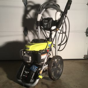 Ryobi RY803001 3000-PSI 2.3-GPM Honda Gas Pressure Washer The RYOBI 3000 PSI 2.3 GPM Gas Pressure Washer is engineered to handle driveways cleaning, for Sale in Peachtree City, GA