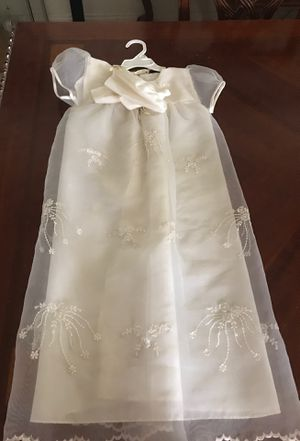 Baptism/Christening dress for 1 to 1.5 years old for Sale in Bakersfield, CA