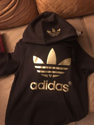 ADIDAS Logo Designed Brown Hoodie (Large Adult) $35 for Sale in Upland, CA