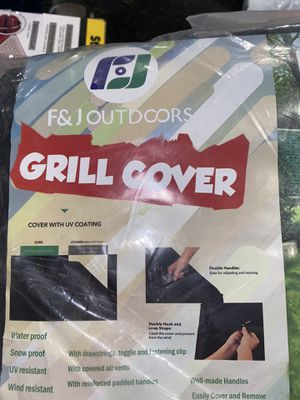 outdoor grill cover new for Sale in Fort Worth, TX