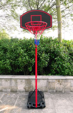 """New $50 Junior Basketball Hoop 27""""x18"""" Backboard Adjustable System with Stand for Sale in El Monte, CA"""