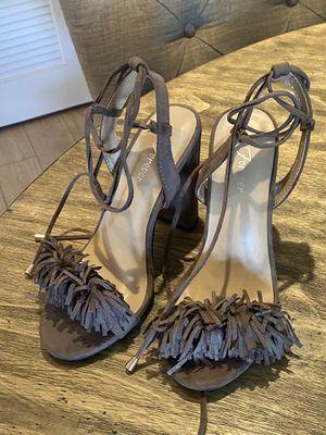 Fringe Brown Heels for Sale in Coronado, CA