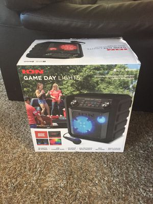ION Audio Gameday Bluetooth Wireless Rechargeable Speaker System - Brand New for Sale in Alexandria, VA