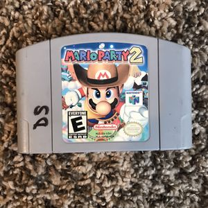 Mario Party 2 N64 Authentic, Good Condition, Tested for Sale in Louisville, KY