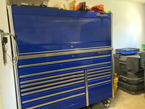 """Snap on Epiq 68"""" with hutch NO TOOLS included what so ever for Sale in Nokesville, VA"""