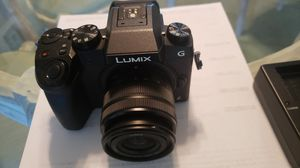 BRAND NEW LUMIX DMC-G7 4K DIGITAL CAMERA WITH LENS W CHARGER for Sale in Laguna Niguel, CA
