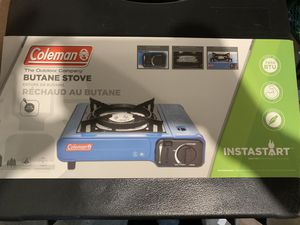 Coleman Camping Butane Stove for Sale in Ossining, NY