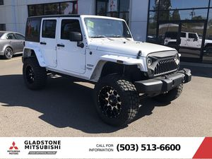 2017 Jeep Wrangler Unlimited for Sale in Milwaukie, OR