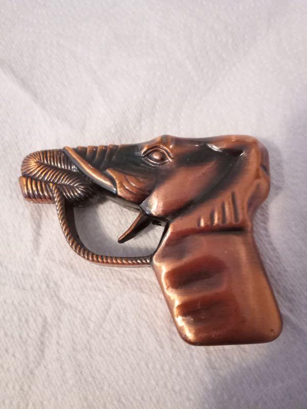 Vintage Elephant Gun Torch Lighter