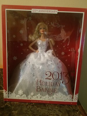 2013 Holiday Barbie for Sale in Galloway, OH