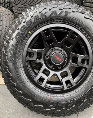 "17"" TRD Replica Wheels Package Package Includes Rims & Tires Size 6x139 ( 265/70R17 Falken Wildpeak AT3 ) Fits Tacoma's , 4runners & More Packag for Sale in La Habra, CA"