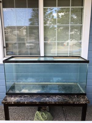 65 gallons long fish tank with stand for Sale in North Plains, OR