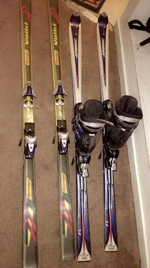 Skis and boots for Sale in US
