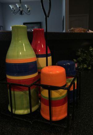 Salt, Pepper, Sugar, Creamer Set for Sale in Pace, FL